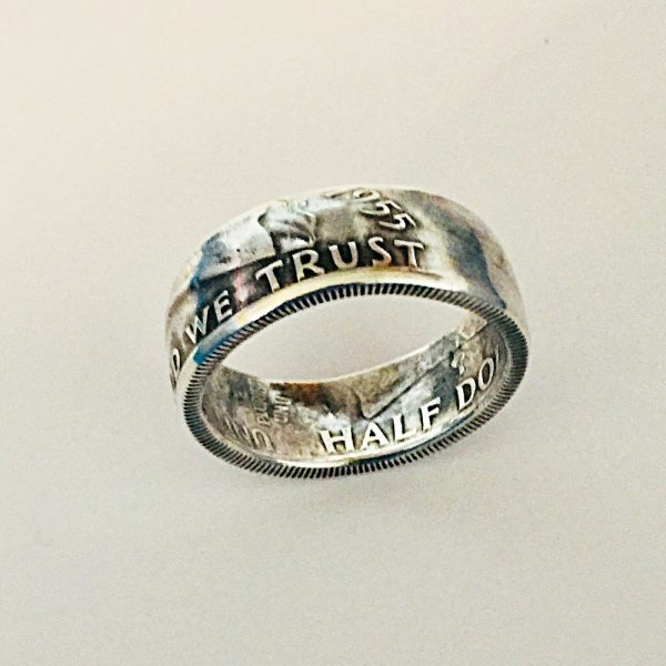 Benjamin Franklin Half Dollar Coin Ring1