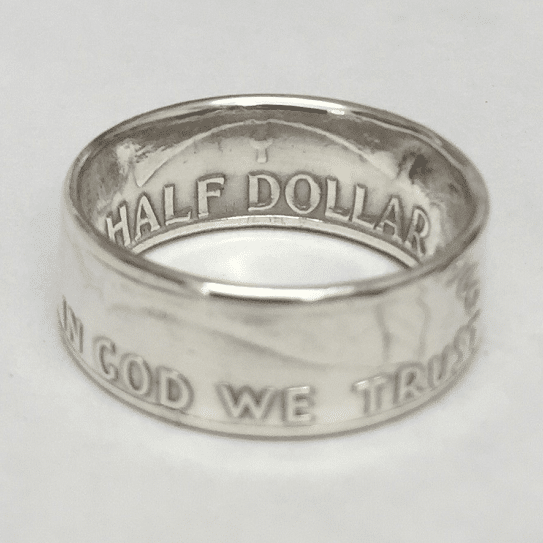 Franklin Half Dollar Coin Ring - Gloss 2