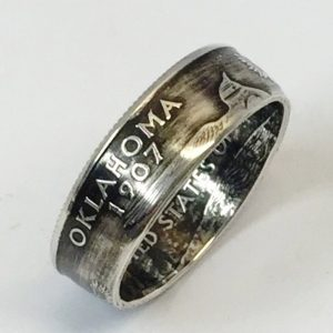 Statehood Quarter Coin Ring
