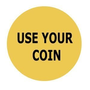 use your coin