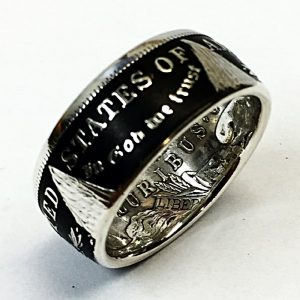 Morgan Dollar Coin Ring
